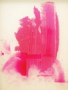 Sigmar Polke, Untitled (Lens Painting), 2008.